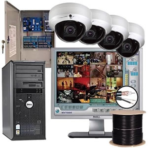 System cabling; IP camera solution One Click Solution | Business software in Cambodia